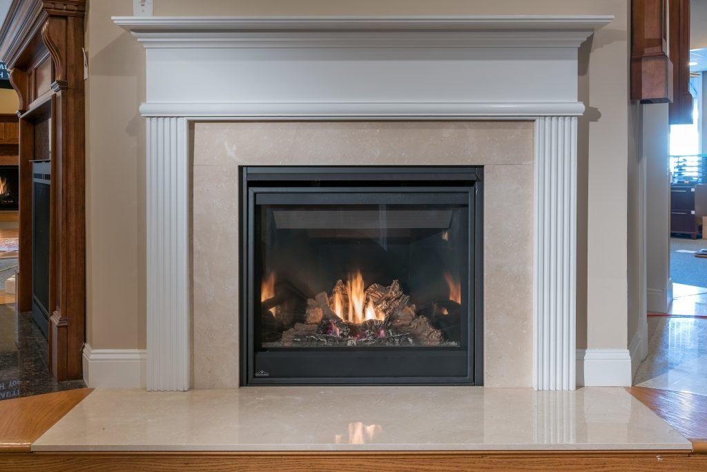 Gas Fireplace - Napoleon GX36 - Premier Marion Mantel ...