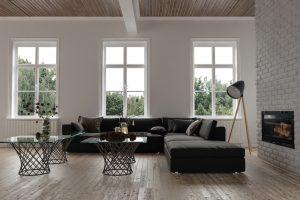 New modern home interior
